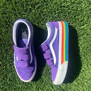 Vans Old Skool Rainbow Platform Sneakers